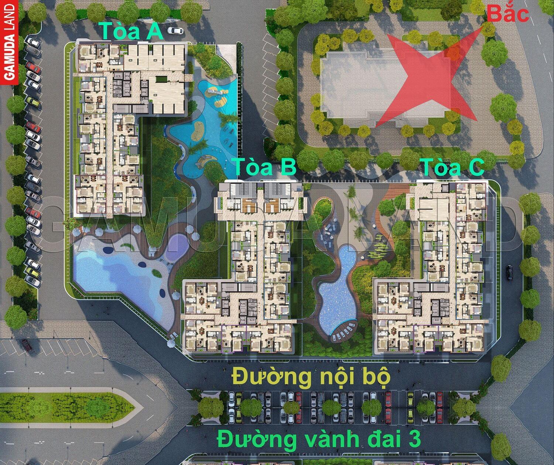 Thiết kế 3 tòa The Zen Residence